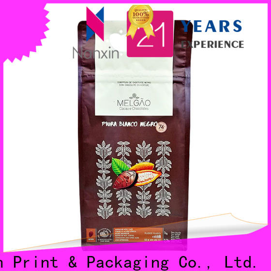 Nanxin Print & Packaging ziplock gusset pouch supply for cookies