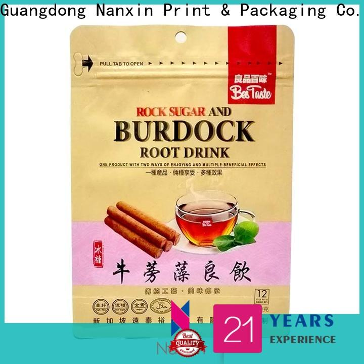 Nanxin Print & Packaging High-quality flat bottom pouch manufacturers for cookies