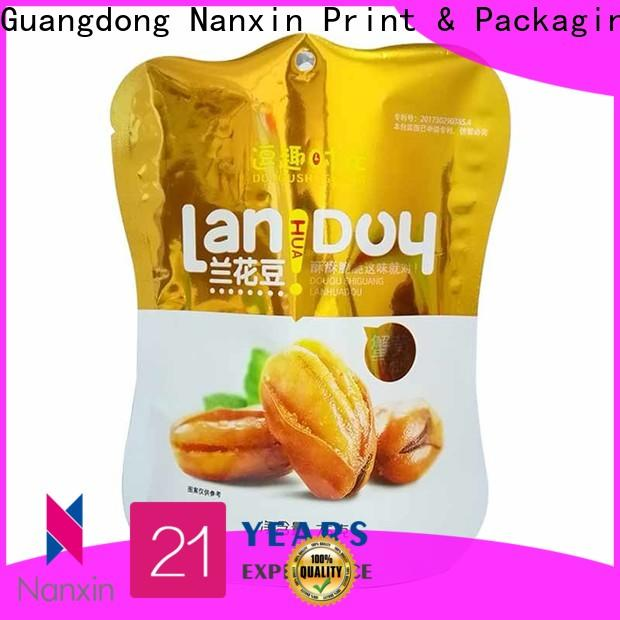 Nanxin Print & Packaging Top stand up pouch company for pet foods