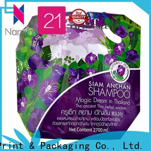Nanxin Print & Packaging novel pattern spout pouch company for yoghurt