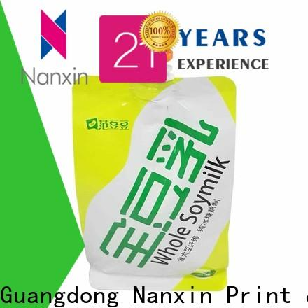 Nanxin Print & Packaging novel pattern spout pouch packaging manufacturers for juice