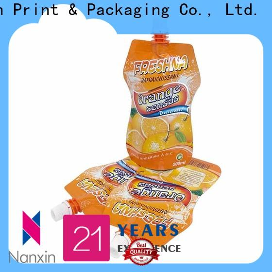 Nanxin Print & Packaging Latest spout pouch factory for sauce