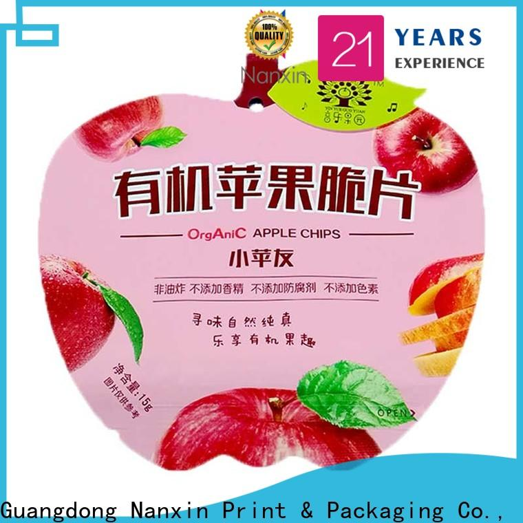 Wholesale flexible pouches packaging three side factory for snacks