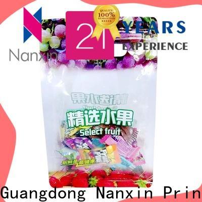 Nanxin Print & Packaging Latest food packaging bags factory for snacks