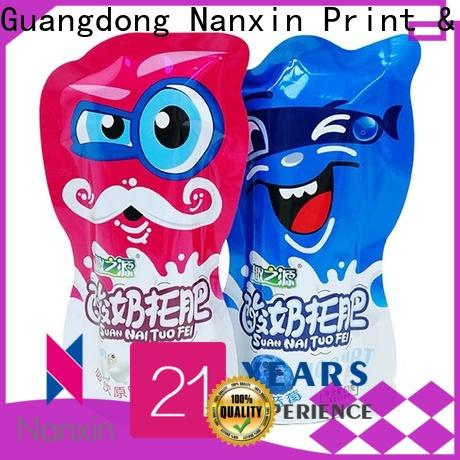 Nanxin Print & Packaging flat bottom food pouch packaging supply for foods