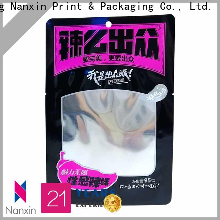 New food packaging bags pet/pe manufacturers for foods