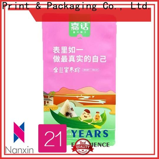 Wholesale flat bottom bag paper factory for foods