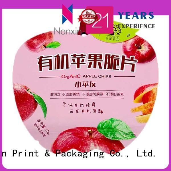 Nanxin Print & Packaging heat seal wire food packaging bags vacuum packaging liquids