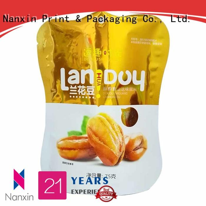 Nanxin Print & Packaging soft stand up pouch suppliers for pet foods