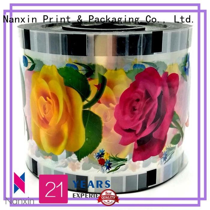 customized cup sealer film semi-transparent adorable jelly