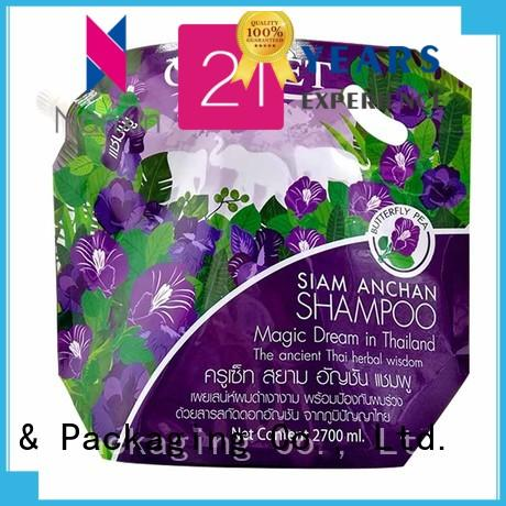 Nanxin Print & Packaging special shape spout pouch packaging factory for juice