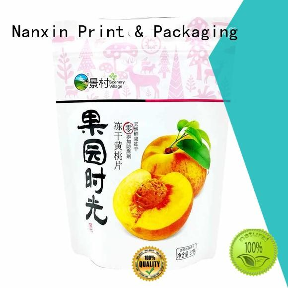 convenient stand up pouch easy reclosing dried fruit or vegetable