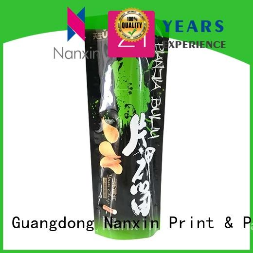 Nanxin Print & Packaging kraft paper stand up pouch packaging suppliers for pet foods