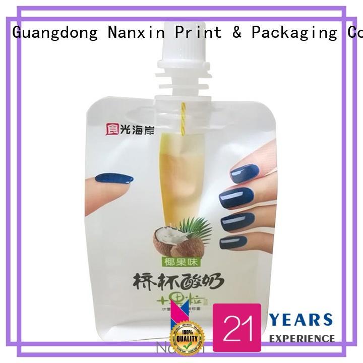 Nanxin Print & Packaging High-quality spout bag company for yoghurt