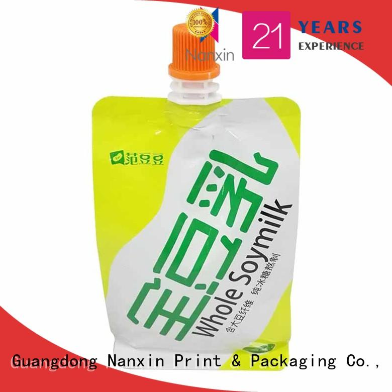 Nanxin Print & Packaging Latest spout pouches manufacturers for liquids
