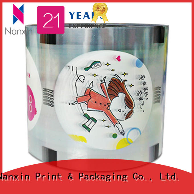 Nanxin Print & Packaging High-quality bubble tea sealing film suppliers for drinks
