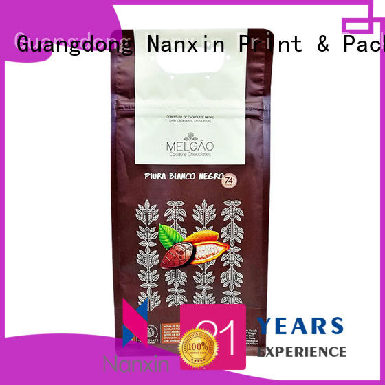 High-quality gusset pouch pet/pe company for foods