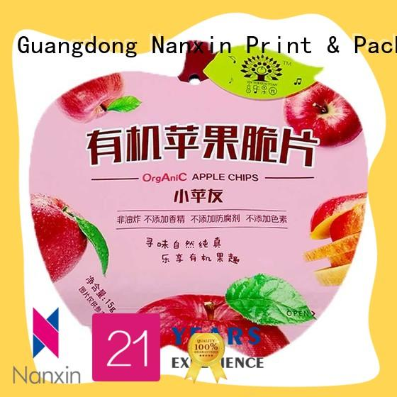Nanxin Print & Packaging High-quality packaging pouches manufacturers for liquids