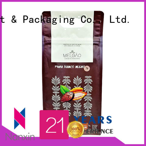 Nanxin Print & Packaging Best flat bottom pouch supply for snack