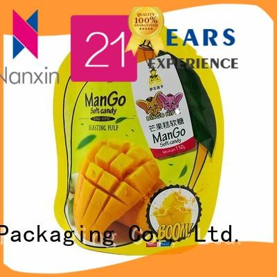 Nanxin Print & Packaging New stand up pouch packaging for business fpr snacks