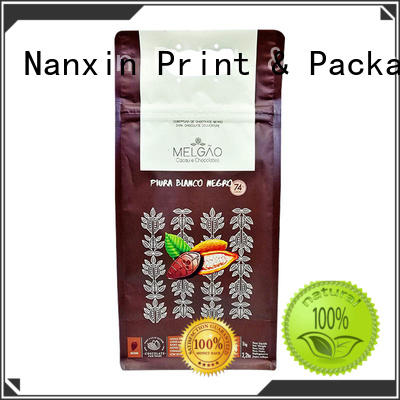 Nanxin Print & Packaging moisture proof gussetted bag zipper cookies