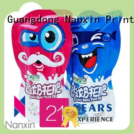Nanxin Print & Packaging Latest flexible pouches packaging manufacturers for liquids