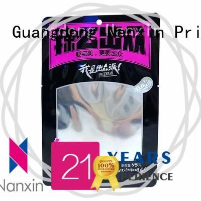 Nanxin Print & Packaging plastic food packaging bags vacuum packaging snacks