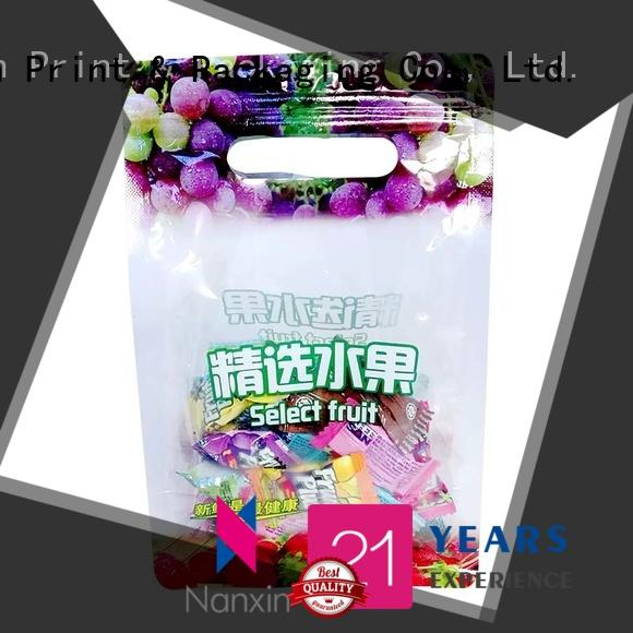 Nanxin Print & Packaging plastic pouch packaging gravure printing foods