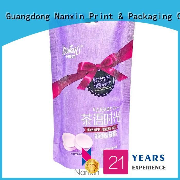 flexible packaging solutions transparent snacks Nanxin Print & Packaging