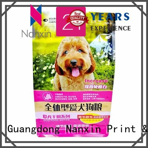 Nanxin Print & Packaging Best flat bottom gusset bags suppliers for foods