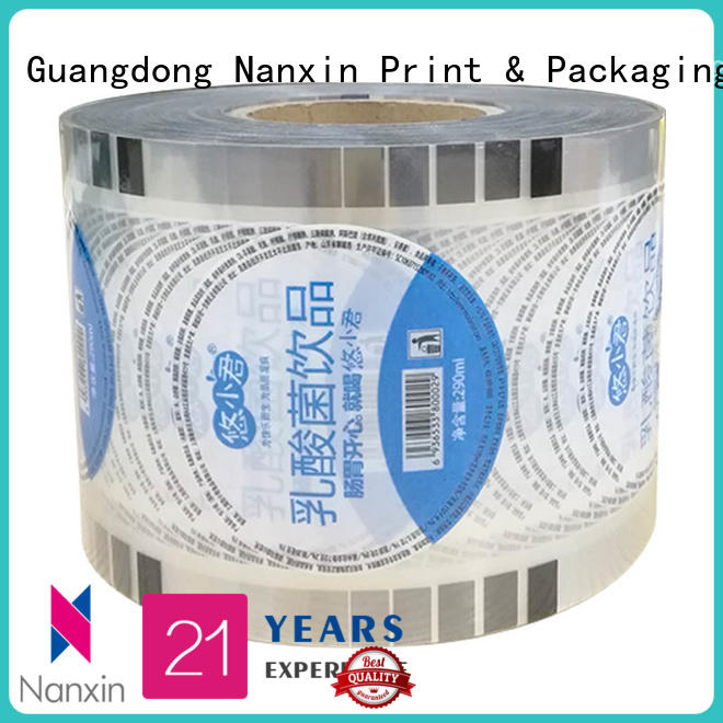 fashionplastic cup sealing film transparent food grade material jelly