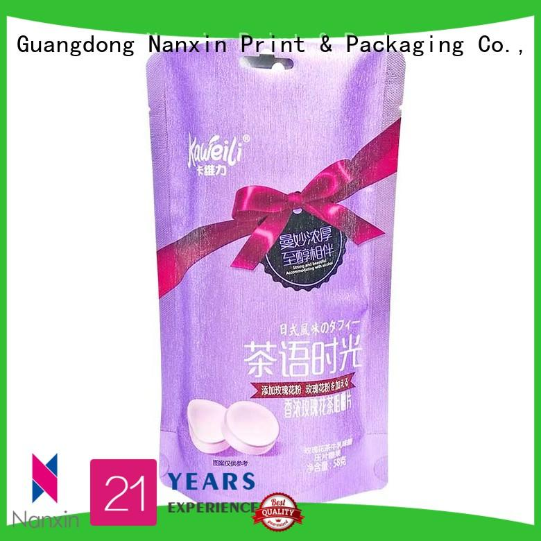 Nanxin Print & Packaging pet/pe pouch packaging for business for liquids