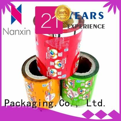Best printed packaging film pet/vmpet/pe supply for pudding