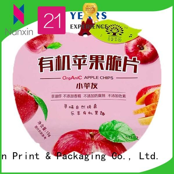 Nanxin Print & Packaging pet/pe flexible pouches packaging factory for liquids
