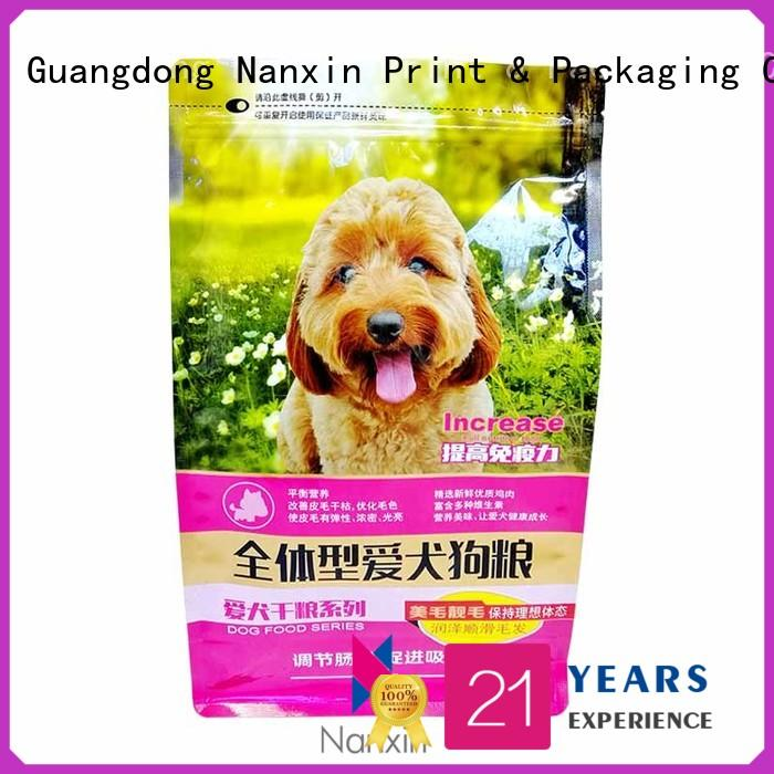 Nanxin Print & Packaging New flat bottom bag suppliers for foods