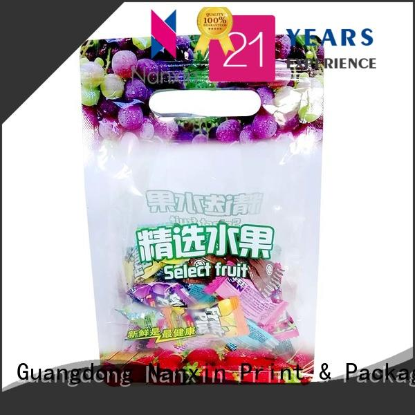 Nanxin Print & Packaging Custom food pouch packaging suppliers for foods