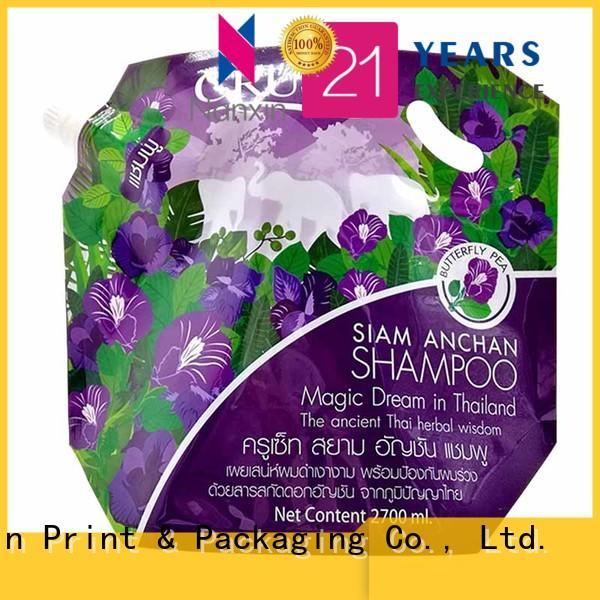 Nanxin Print & Packaging pet/pe liquid spout bag wholesale for lotion