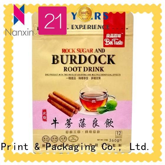 Nanxin Print & Packaging oxygen proof gusset bag attractive snack