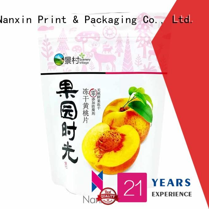 Nanxin Print & Packaging New standing up pouch for business for pet foods