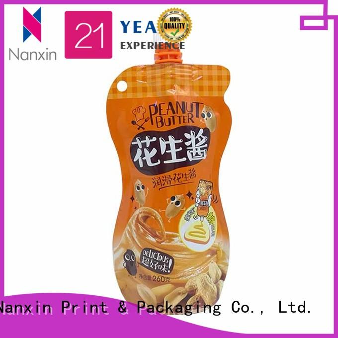 Nanxin Print & Packaging High-quality spout pouches for business for sauce