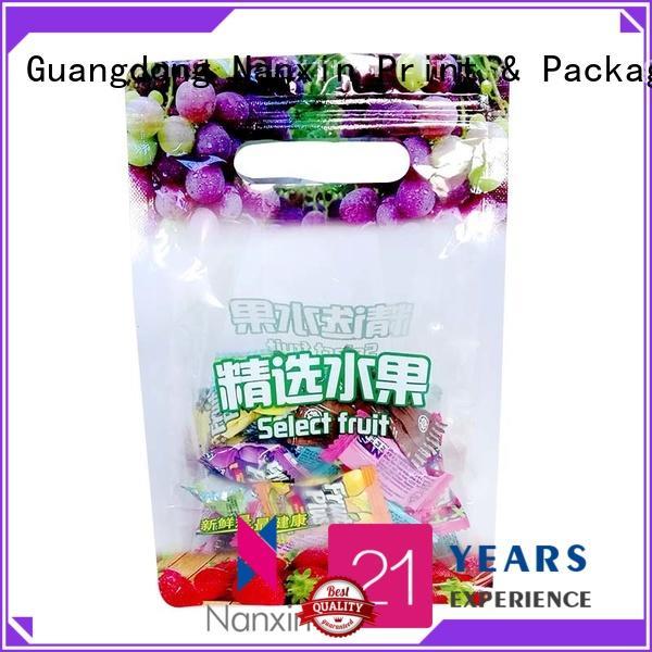 oxygen proof pouch packaging innovative pattern strong sealingliquids