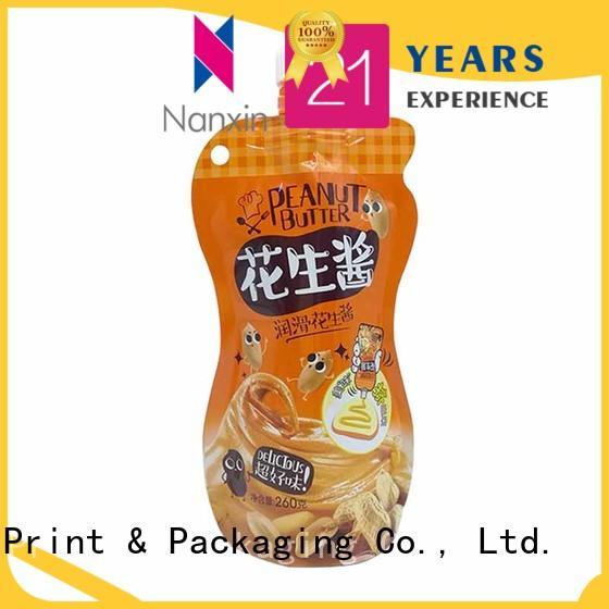 Nanxin Print & Packaging convenient used spout pouch flexible juice