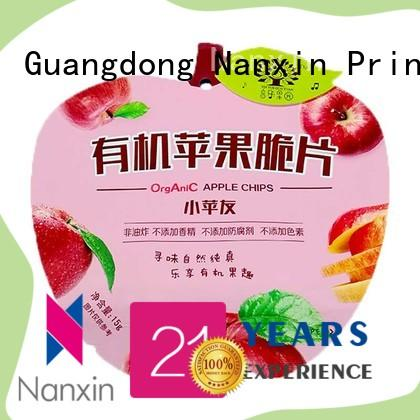 Nanxin Print & Packaging transparent flexible pouches packaging suppliers for liquids