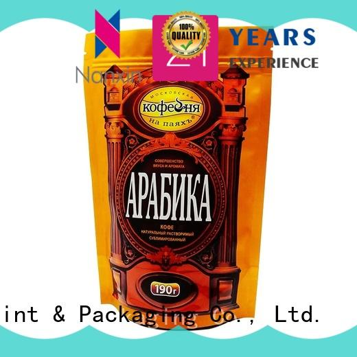 special shape stand up zipper bag long shelf life dried fruit or vegetable Nanxin Print & Packaging