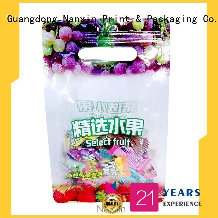 fashionable food packaging bags heat seal wire vacuum packaging snacks