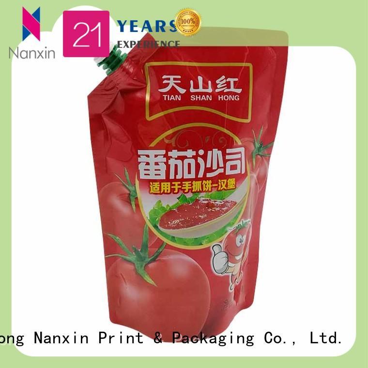 Nanxin Print & Packaging Top spout bag suppliers for liquids