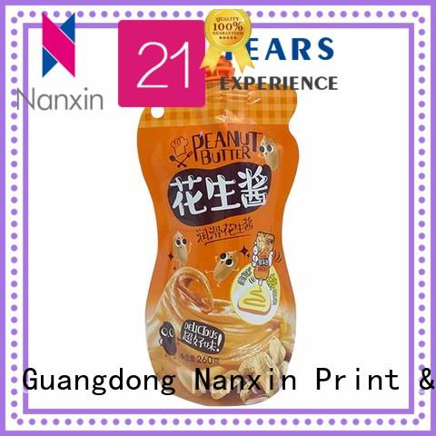 Nanxin Print & Packaging High-quality spout pouches supply for yoghurt