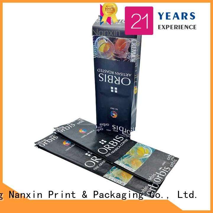 Nanxin Print & Packaging Top flexible pouches packaging manufacturers for liquids