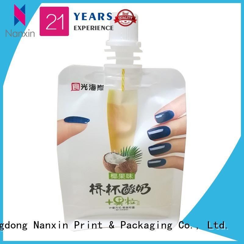Nanxin Print & Packaging Latest spout pouches factory for yoghurt