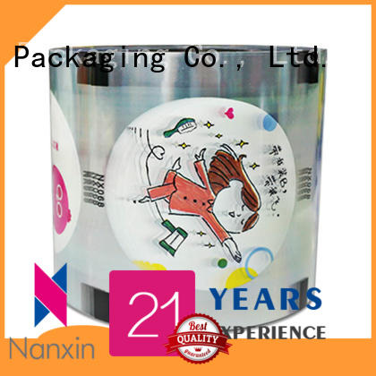Nanxin Print & Packaging transparent bubble tea film adorable jelly